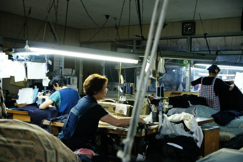 【武州藍染】縫製職人