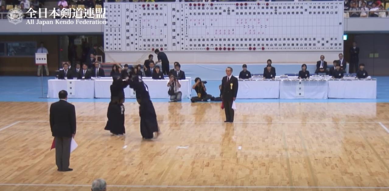 第62回 全日本東西対抗剣道大会 男子16将戦 彌永 政美 - 鍋山 隆弘