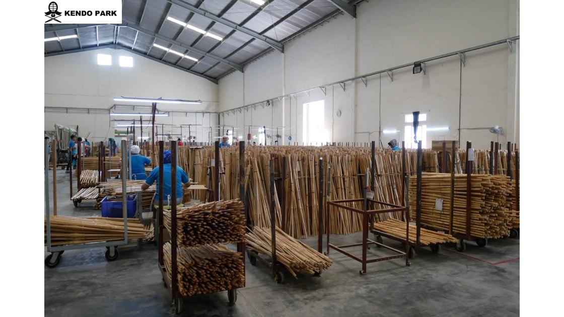 宏達インドネシア竹刀工場