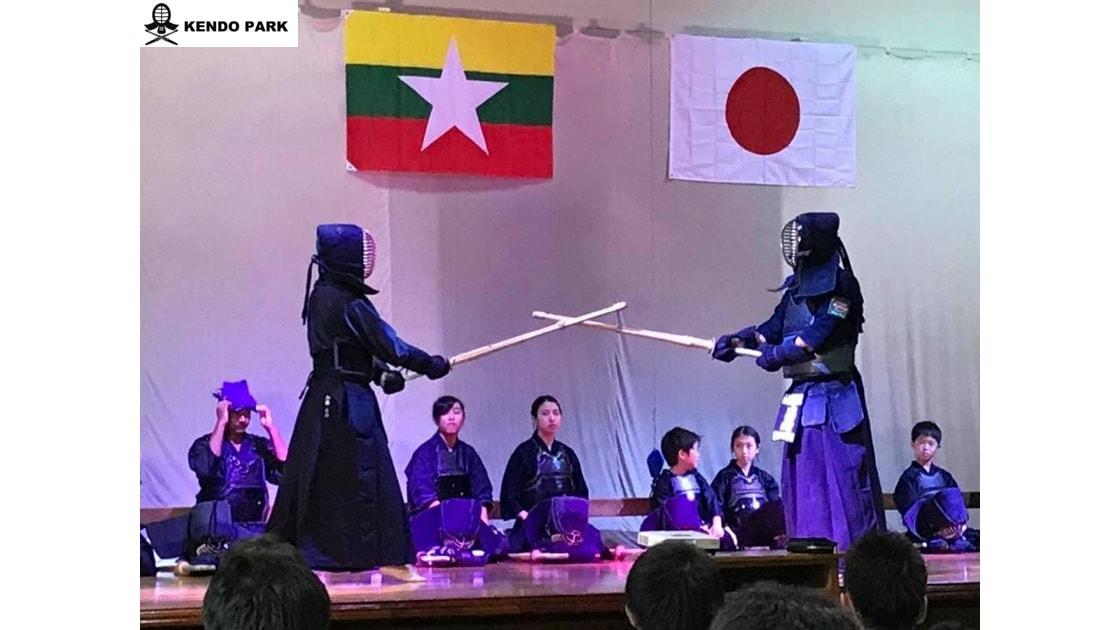 剣道デモンストレーション