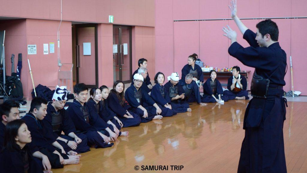 剣道体験,SAMURAI TRIP