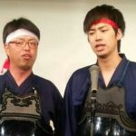 【剣道漫才コンビ「3段5段」】
