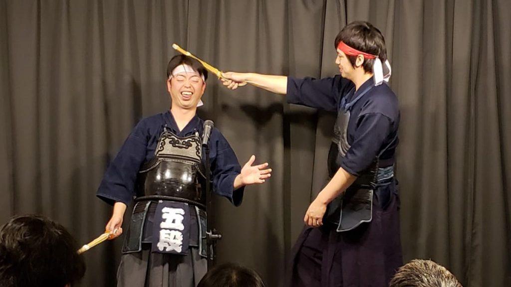 3段5段 剣道 漫才 お笑い