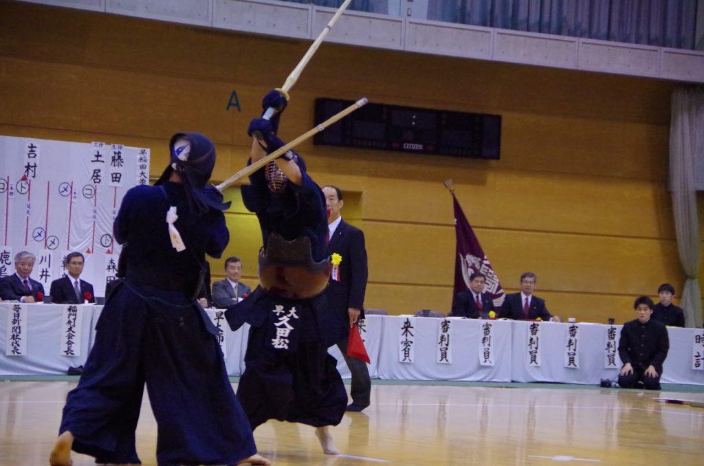 早慶戦,剣道