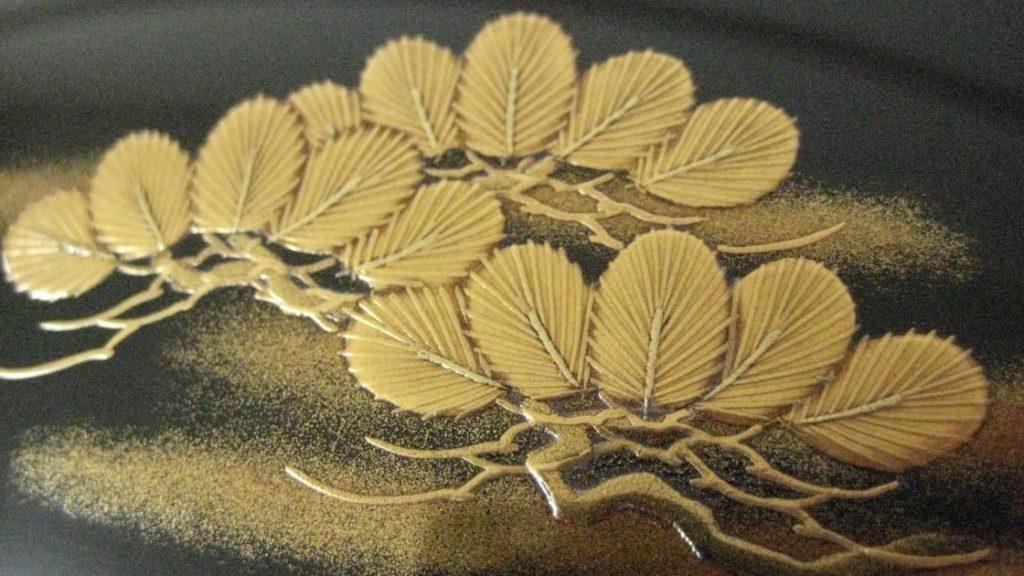 蒔絵,胴,金,校章,家紋