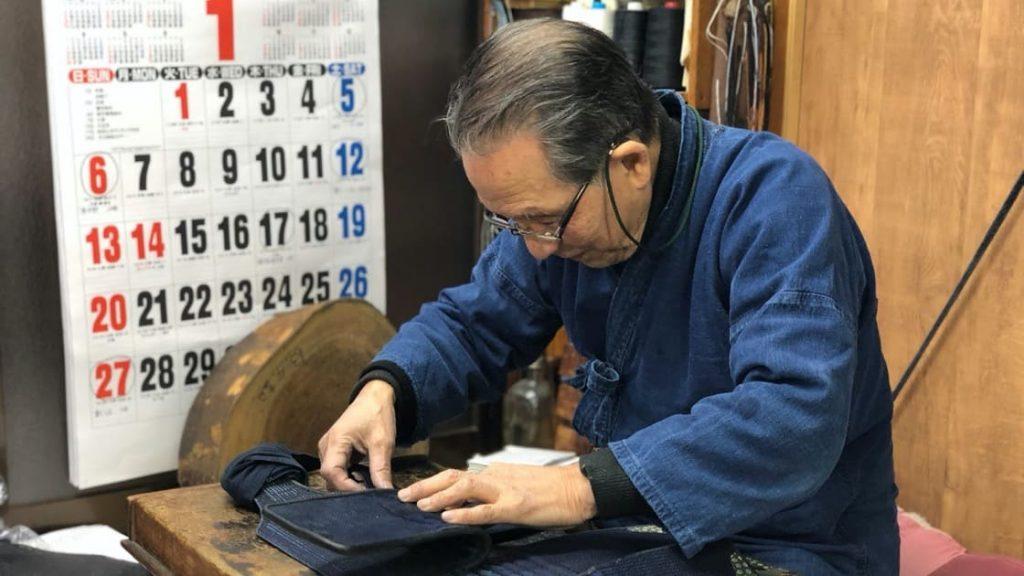 大和武道具製作所,伊藤喜一郎,剣道,防具,職人